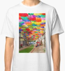 Floating Umbrellas Classic T-Shirt