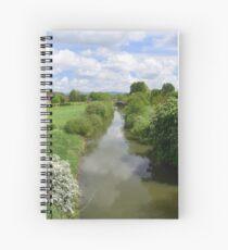 Stamford Bridge - River Derwent Spiral Notebook