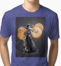 Rainbow Punk: Tangerine Plague Tri-blend T-Shirt