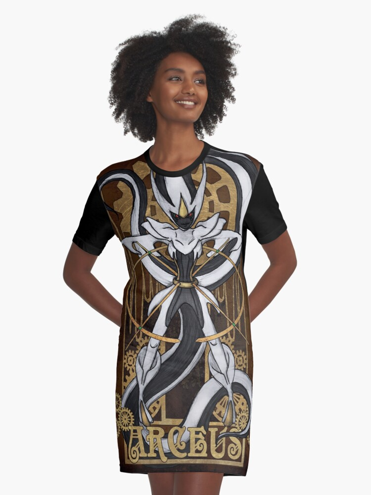 Rule 63: Arceus Graphic T-Shirt Dress Front