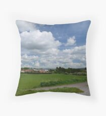 Stamford Bridge - Myra's View Throw Pillow