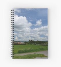 Stamford Bridge - Myra's View Spiral Notebook