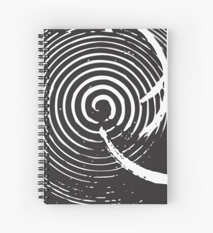 The Twilight Zone : BW // DJ Spiral Notebook