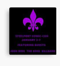 Steelport Comic Con Canvas Print