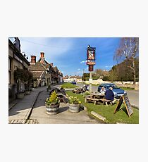 The Longs Arms Pub, Steeple Ashton, Wiltshire, UK Photographic Print