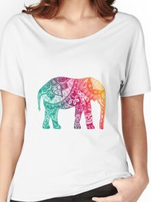 Warm Elephant Women's Relaxed Fit T-Shirt