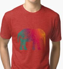 Warm Elephant Tri-blend T-Shirt