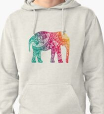 Warm Elephant Pullover Hoodie