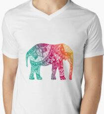 Warm Elephant Men's V-Neck T-Shirt