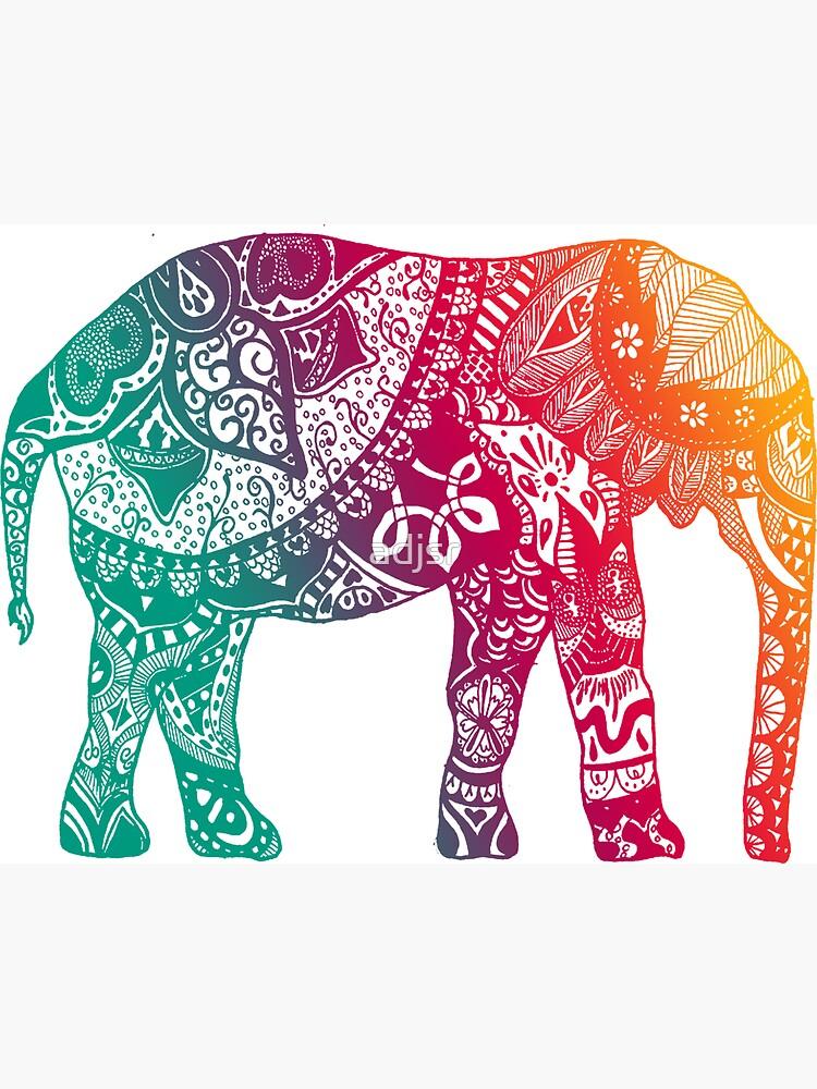 Elefante cálido de adjsr