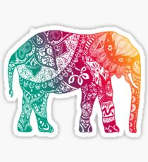 Warmer Elefant Sticker