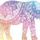 «Elefante pastel» de adjsr