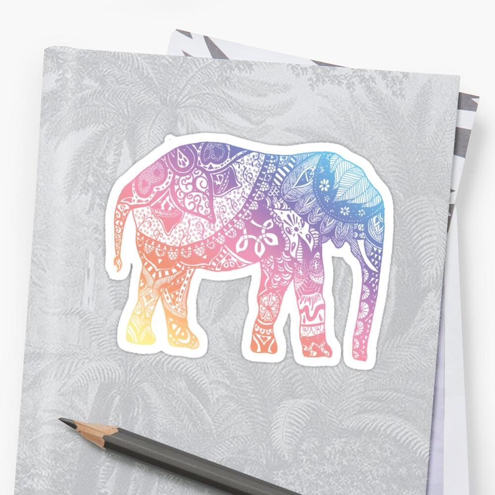 Pastel Elephant by adjsr