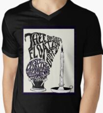 Thee oh Sees-floating coffin poster! Men's V-Neck T-Shirt