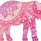 «Elefante rosa claro» de adjsr