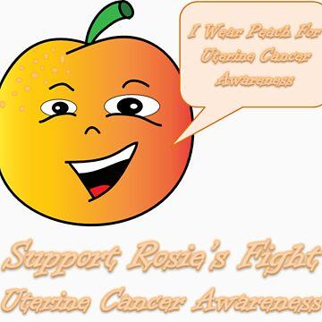 Uterine Cancer Awareness Peach #rosiesfight by rosiesfight