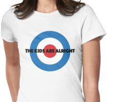The Kids Are Alright Womens Fitted T-Shirt