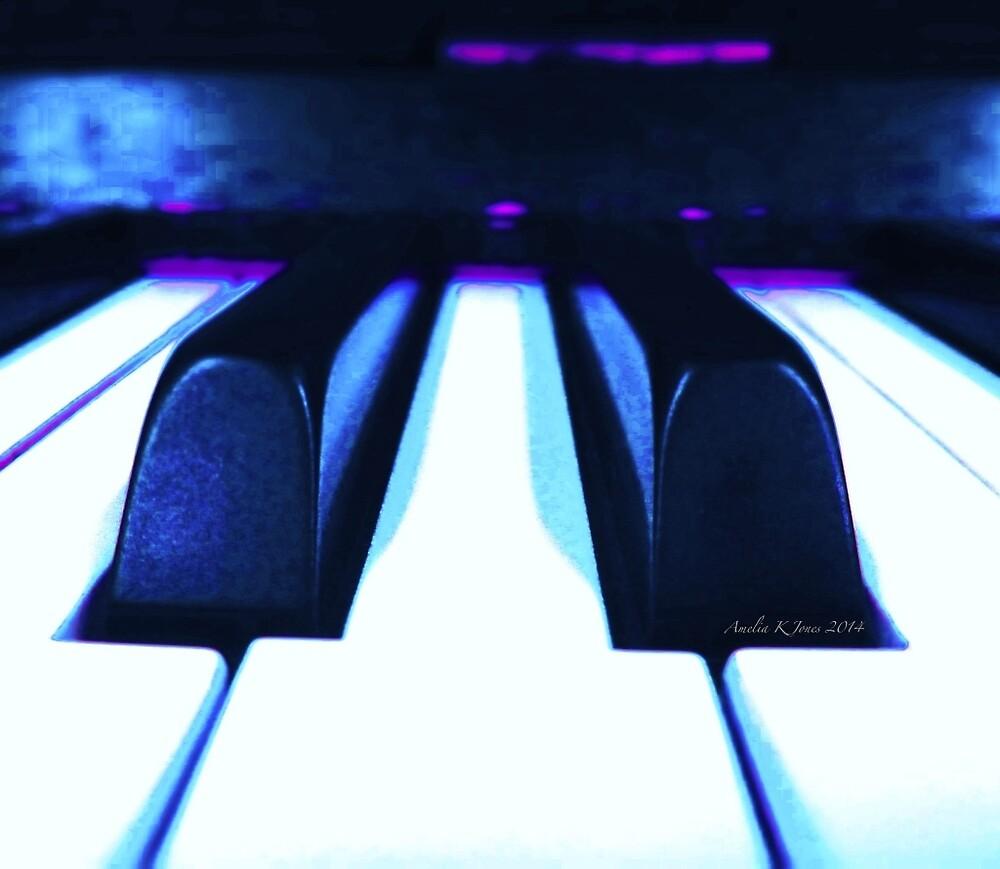 Piano Keys by JunkyardFox