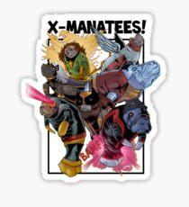 Pegatina X-Manatees! ¡VENTA!