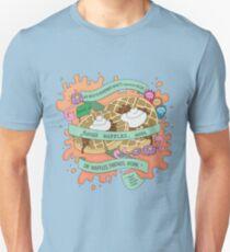 Friends, Waffles, Work. (Parks and Rec) Unisex T-Shirt