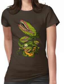 Venus Fly Trap Womens Fitted T-Shirt