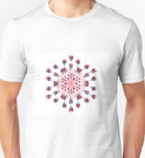 Red Kaleidoscope Merchandise Unisex T-Shirt