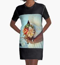 Bride's Bouquet Graphic T-Shirt Dress