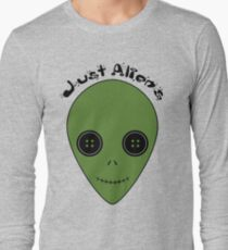 Just Aliens Long Sleeve T-Shirt