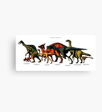 Bajanzag's Dinosaurs Canvas Print