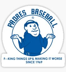 Shrugging Friar Sticker
