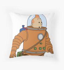 Belgium in Space  Throw Pillow