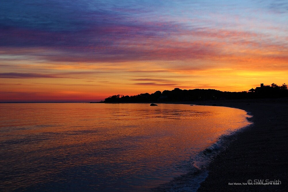 Orient Shoal At Dawn | East Marion, New York  by © Sophie W. Smith