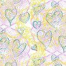 Random Heart Mandala by Edward Huse