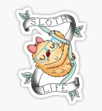 Slothilda Sloth - Sloth Life Sticker