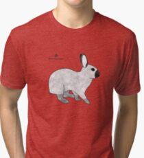 Rabbit Champagne D'Argent Tri-blend T-Shirt