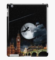 Sailing in the Night - Peter Pan London Scene iPad Case/Skin