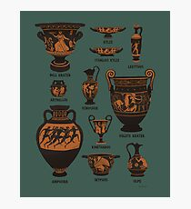 Ancient Greek Pottery Photographic Print