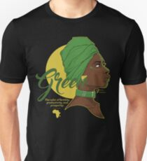 Green -  The color of fertility, productivity, and prosperity. T-Shirt
