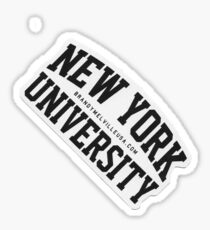New York University Brandy Melville Sticker