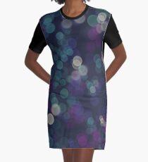 Bokeh lights pattern Graphic T-Shirt Dress