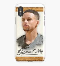 Stephen Steph Curry Basketball Digital Painting Art iPhone Case/Skin