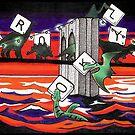 Dinosaur Scrabble Jam! by serenekitchen