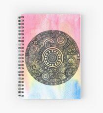 Rainbow Mandala Spiral Notebook