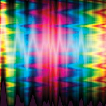 Psychedelic Rainbow Color Waves by TenThirty