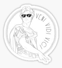 Veni Vidi Vici Sticker