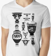 Ancient Greek Pottery Silhouette T-Shirt