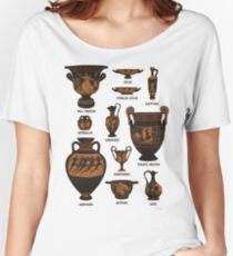Ancient Greek Pottery Women's Relaxed Fit T-Shirt