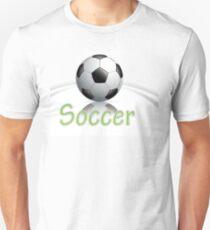 Soccer ball graphics Unisex T-Shirt