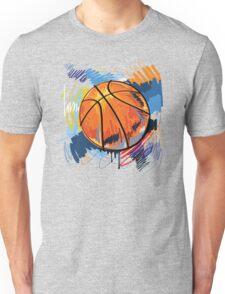Basketball graffiti art Unisex T-Shirt