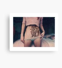 the heart of the vagina Canvas Print